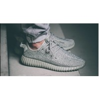 Кроссовки Adidas Yeezy Boost 350 Light Grey (серые)