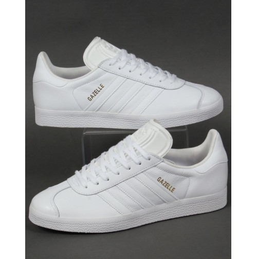 Кроссовки Adidas Gazelle Leather Trainers White