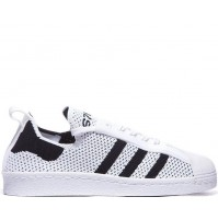 Кроссовки Adidas Superstar 80s Primeknit White/Black