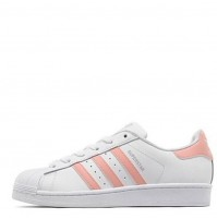 Кроссовки Adidas Superstar White/Peach