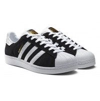 Кроссовки Adidas Superstar Black-White 2