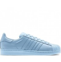 Кроссовки Adidas Superstar Light Blue