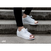 Кроссовки Adidas Superstar Metal/Toe White