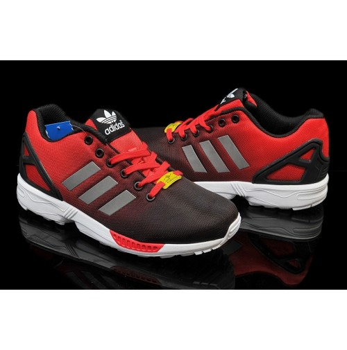 Кроссовки Adidas ZX Flux Black Red