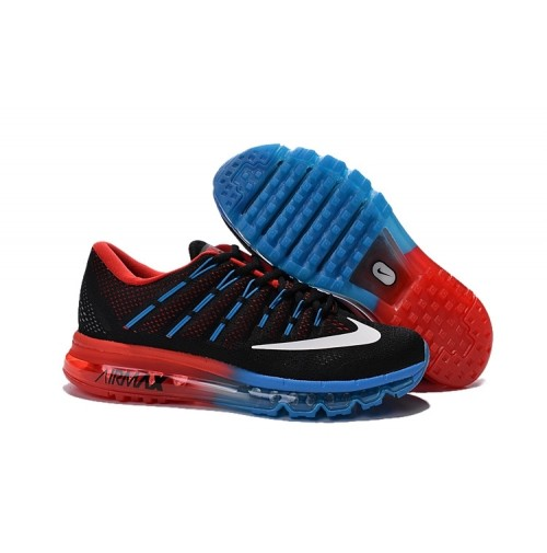 Кроссовки Nike Air Max 2016 Black/Blue/Red