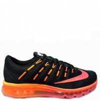 Кроссовки Nike Air Max 2016 Black/Orange