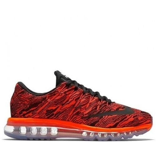 Кроссовки Nike Air Max 2016 Print Total Crimson/Black