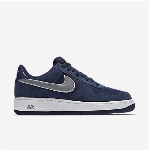 Кроссовки Nike Air Force Blue Suede