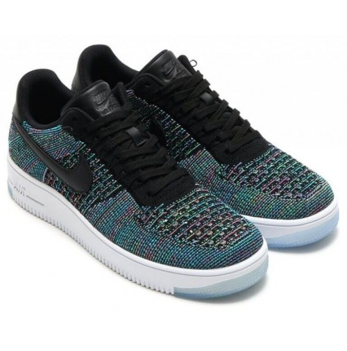 Кроссовки Nike Air Force 1 Ultra Flyknit Low Multicolor