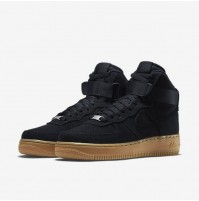 Кроссовки Nike Air Force 1 High Black Gum