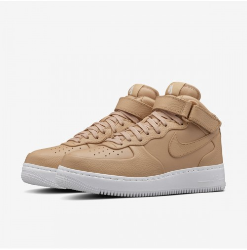 Кроссовки NikeLab Air Force 1 Mid Vachetta Tan/White