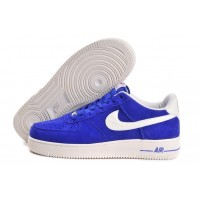 Кроссовки Nike Air Force Low Hyper Blue (синие)
