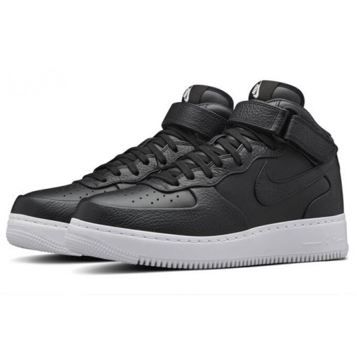 Кроссовки NikeLab Air Force 1 Mid CMFT Black