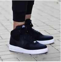 Кроссовки Nike Air Force 1 High 07 Suede Black