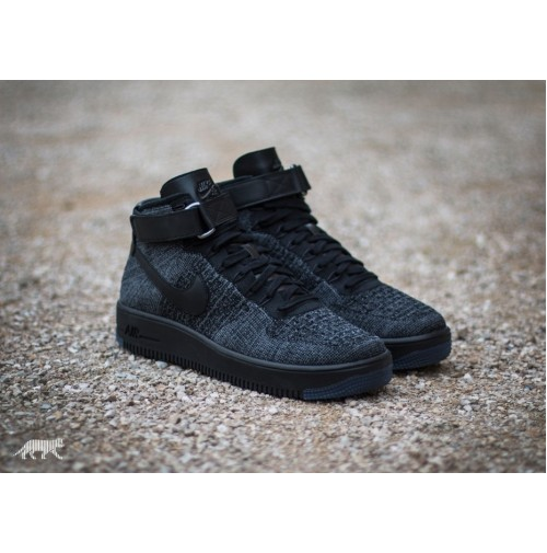Кроссовки Nike Air Force 1 Ultra Flyknit Black