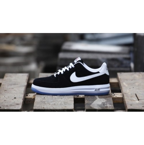 Кроссовки Nike Lunar Force 1 Black Suede
