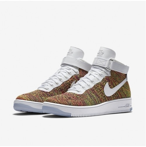 Кроссовки Nike Air Force 1 Ultra Flyknit Mid Multicolor