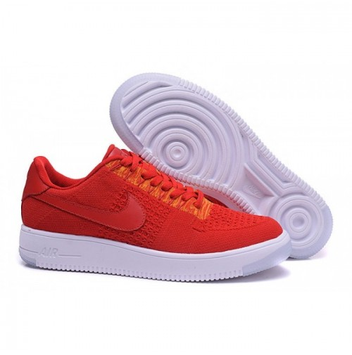 Кроссовки Nike Air Force 1 Ultra Flyknit Low Red University