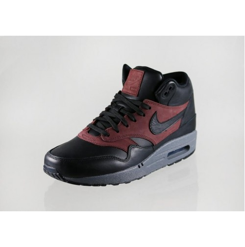 Кроссовки Nike Air Max 87 Mid Deluxe QS Black/Barkroot Brown