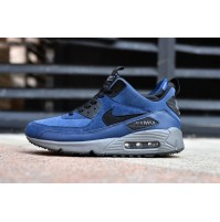 Кроссовки Nike Air Max 90 Sneakerboot Blue/Black