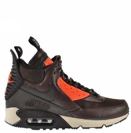 Кроссовки Nike Air Max 90 SneakerBoot Brown/Crimson
