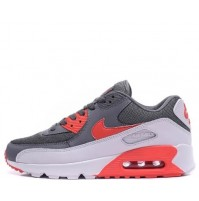 Кроссовки Nike Air Max 90 Grey/Red/White