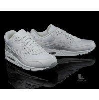 Кроссовки Nike Air Max 90 Premium White/Metallic Silver