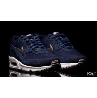 Кроссовки Nike Air Max 90 Premium Dark Blue (синие)