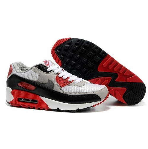 Кроссовки Nike Air Max 90 Black/White/Red