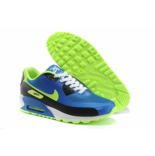Кроссовки Nike Air Max 90 Hyperfuse Blue/Lime