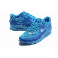 Кроссовки Nike Air Max 90 Hyperfuse Light Blue