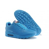 Кроссовки Nike Air Max 90 Hyperfuse Light Blue w02