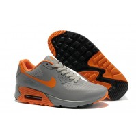 Кроссовки Nike Air Max 90 Hyperfuse Grey/Orange