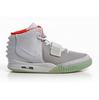 Кроссовки Nike Air Yeezy 2 Wolf Grey/Pure Platinum