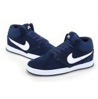 Кроссовки Nike Paul Rodriguez 5 mid Fur Blue (синие)