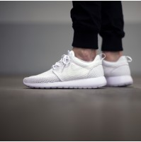 "Кроссовки Nike Roshe Run Breeze ""Whiteout"" (белые)"