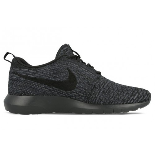 Кроссовки Nike Roshe Run Flyknit Midnight Fog