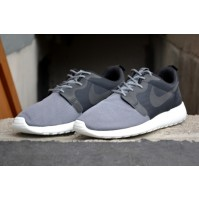 Кроссовки Nike Roshe Run Hyperfuse Grey (серые)