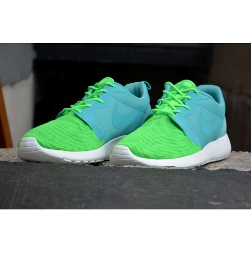 Кроссовки Nike Roshe Run Hyperfuse QS Green (зеленые)