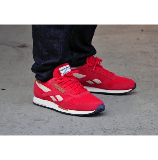 Кроссовки Reebok Classic Leather Stadium Red