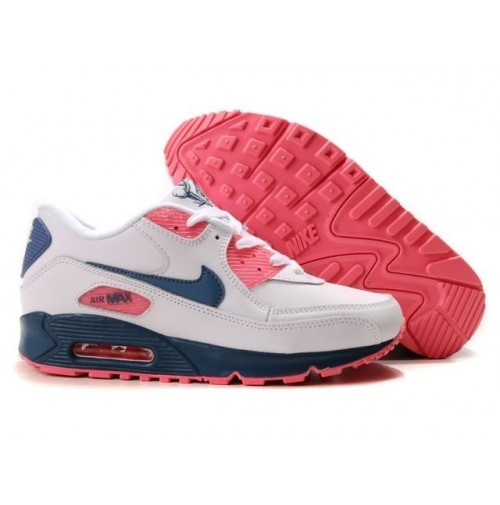 Кроссовки Nike Air Max 90 White/Pink