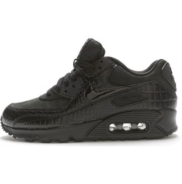 Кроссовки Nike Air Max 90 Premium Black Crocodile
