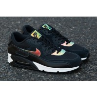 Кроссовки Nike Air Max 90 Premium Iridescent/Black