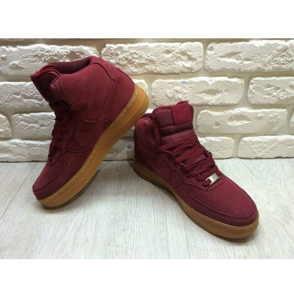 Кроссовки Nike Air Force 1 Mid Team Red New