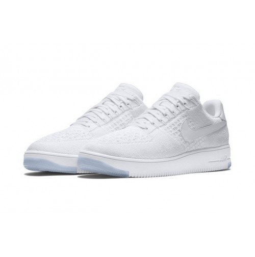 Кроссовки Nike Air Force 1 Ultra Flyknit Low White