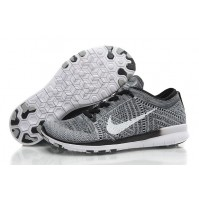 Кроссовки Nike Free Run Flyknit Grey Orchid