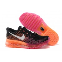 Кроссовки Nike Air Max Flyknit Black/Orange