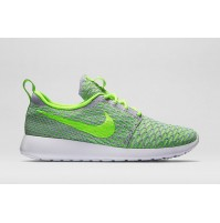 Кроссовки Nike Roshe Run Flyknit Green
